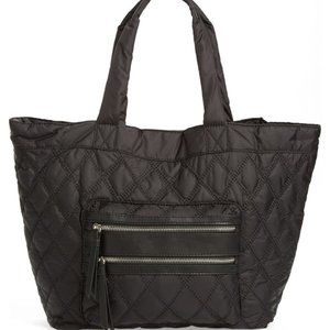 Phase 3 Black Slouchy Quilted Tote - Nordstrom